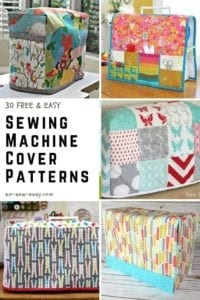 FREE Sewing Machine Cover Patterns