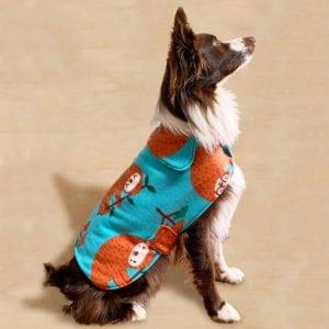 Fleece Dog Coat FREE Sewing Pattern