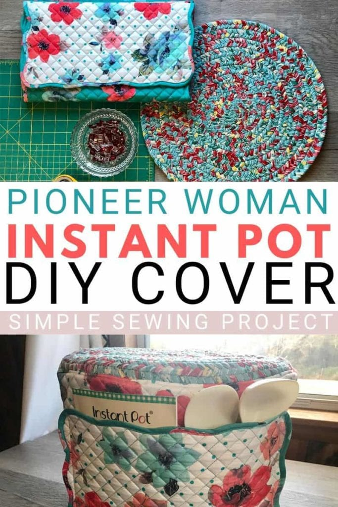Instant Pot DIY Cover FREE Sewing Tutorial