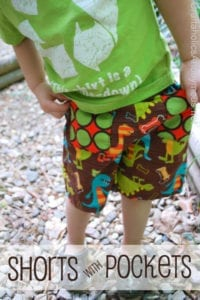 Easy Shorts with Pockets FREE Sewing Tutorial