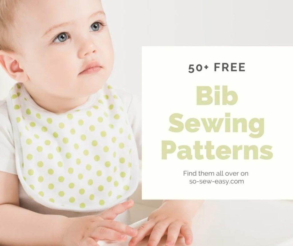 FREE Bib Sewing Patterns