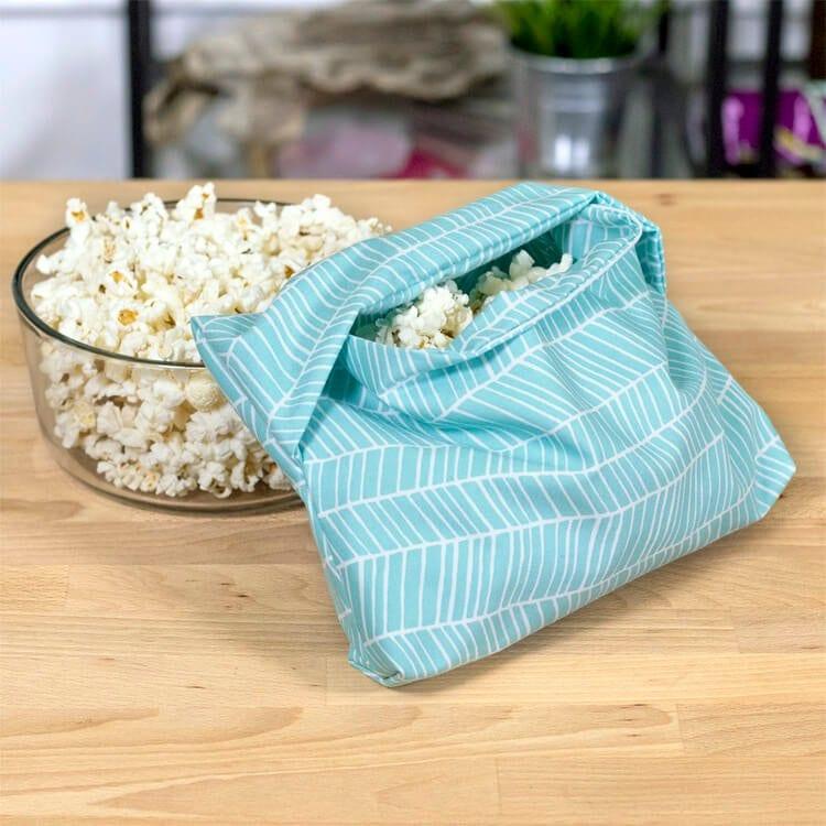 Microwave Popcorn Bag FREE Sewing Tutorial
