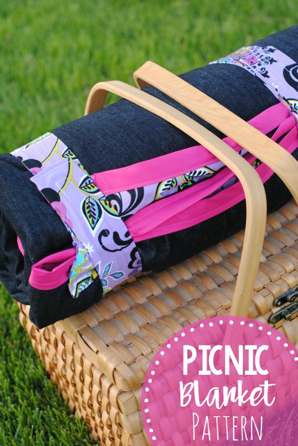 Picnic Blanket FREE Sewing Tutorial