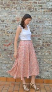 Simple Half-circle Skirt