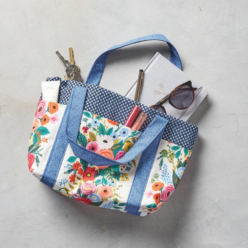 Six-Pocket Bag Free Sewing Tutorial