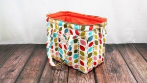 Wire Frame Tote Bag FREE Sewing Tutorial