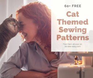 Cat Themed Sewing Patterns