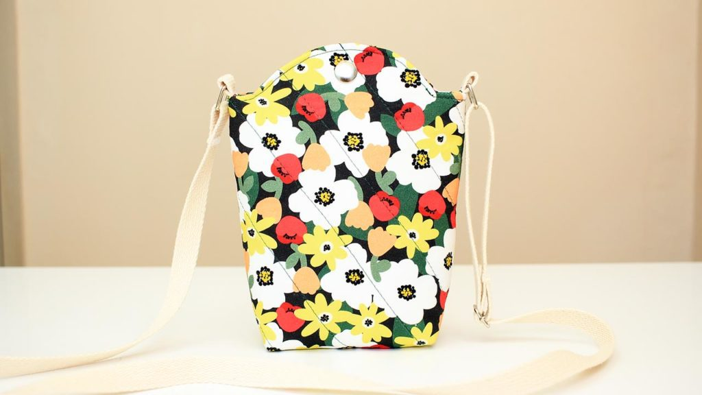 Crossbody Cellphone Bag FREE Sewing Tutorial