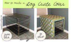 Dog Crate Cover FREE Sewing Tutorial