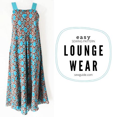 Easy Sleeveless Loungewear FREE Sewing Tutorial