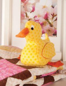 Fuzzy Duck FREE Sewing Pattern