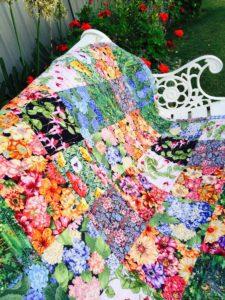 Garden Lap Quilt FREE Tutorial