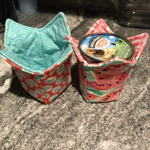 Ice Cream Pint Cozy FREE Sewing Tutorial