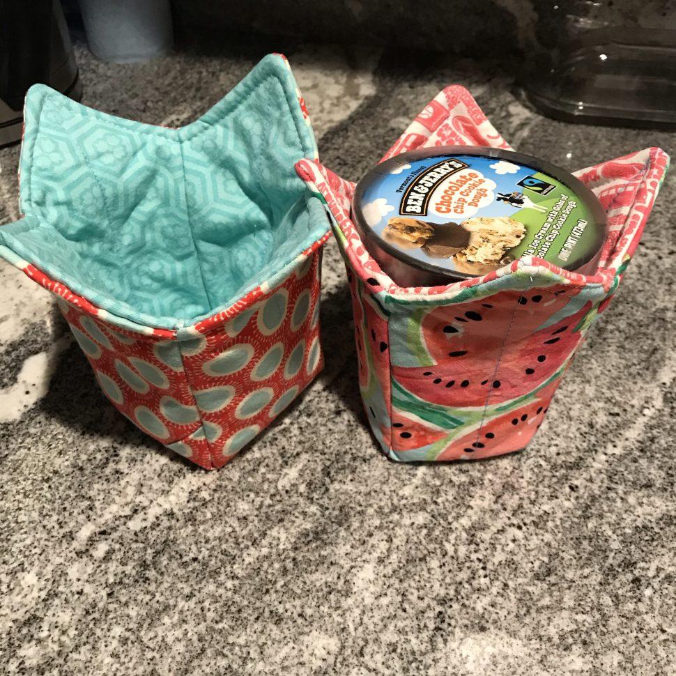 Ice Cream Pint Cozy FREE Sewing Tutorial