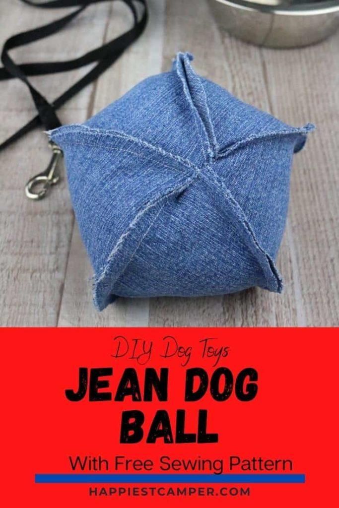 Jean Dog Ball Free Sewing Pattern