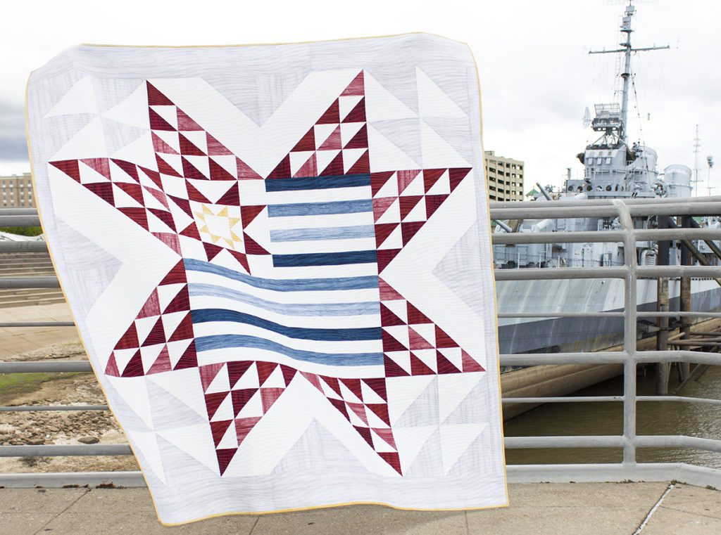 Stars and Stripes Quilt FREE Tutorial