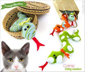 Catnip Kitty Toys FREE Sewing Pattern