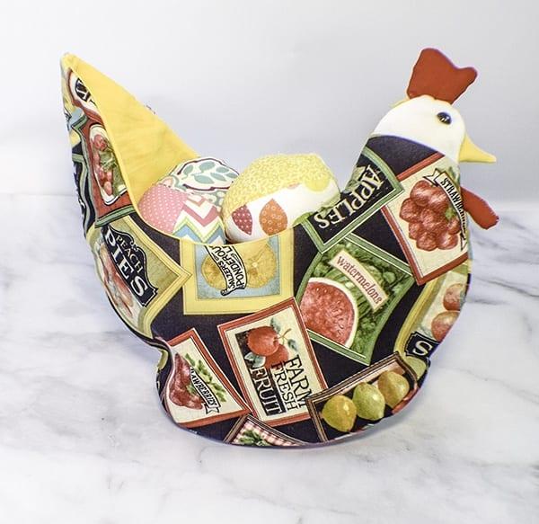 Chicken Basket FREE Sewing Pattern
