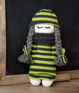 Cute Sock Doll FREE Sewing Tutorial