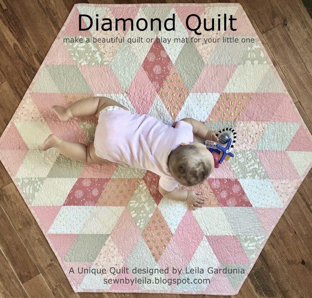 Diamond Quilt FREE Tutorial