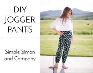 DIY Jogger Pants FREE Sewing Tutorial