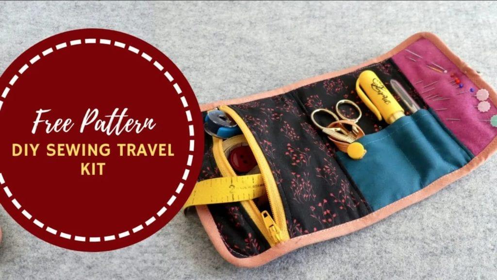 Sewing Travel Kit FREE Sewing Pattern