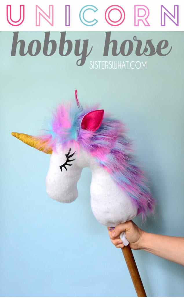 Unicorn Hobby Horse FREE Sewing Tutorial