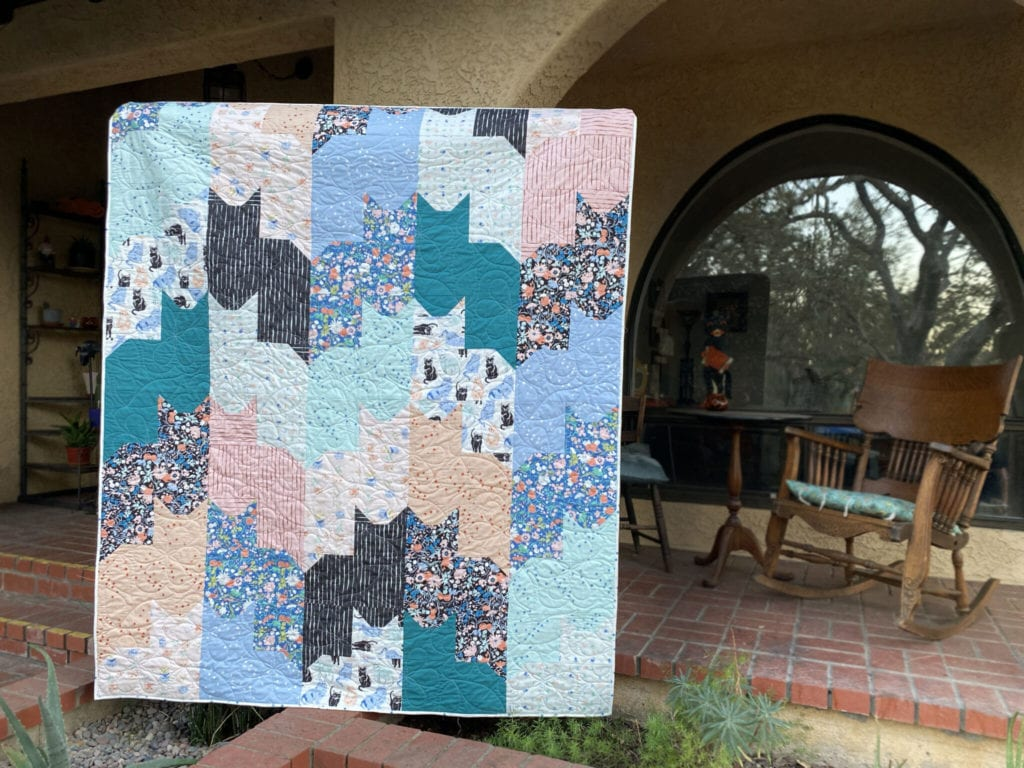 Cats on Cats Quilt FREE Tutorial