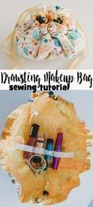 Drawstring Makeup Bag FREE Sewing Tutorial