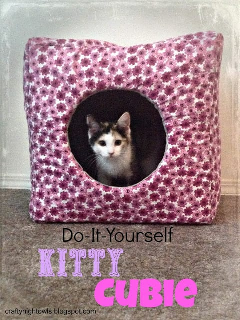 Kitty Cubie FREE Sewing Tutorial