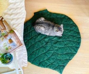 Maxi Leaf Mat FREE Sewing Tutorial
