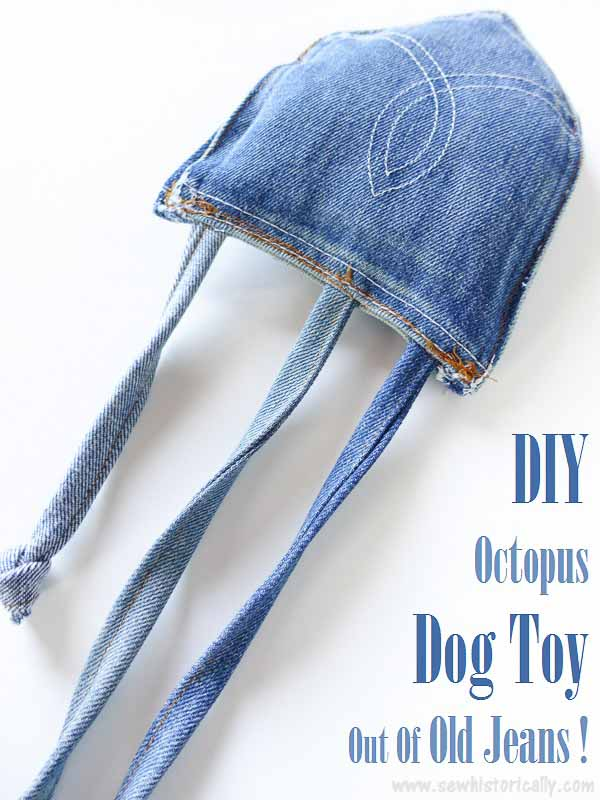 Octopus Dog Toy FREE Sewing Tutorial