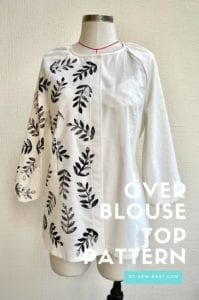 Overblouse Top FREE Sewing Pattern