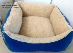 Pet Bed Sewing Free Pattern