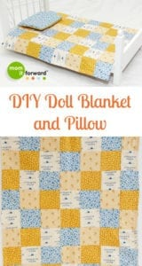Quilted Doll Blanket