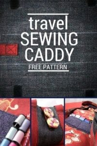Travel Sewing Caddy FREE Pattern
