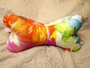 DIY Dog Bone Pillow FREE Pattern