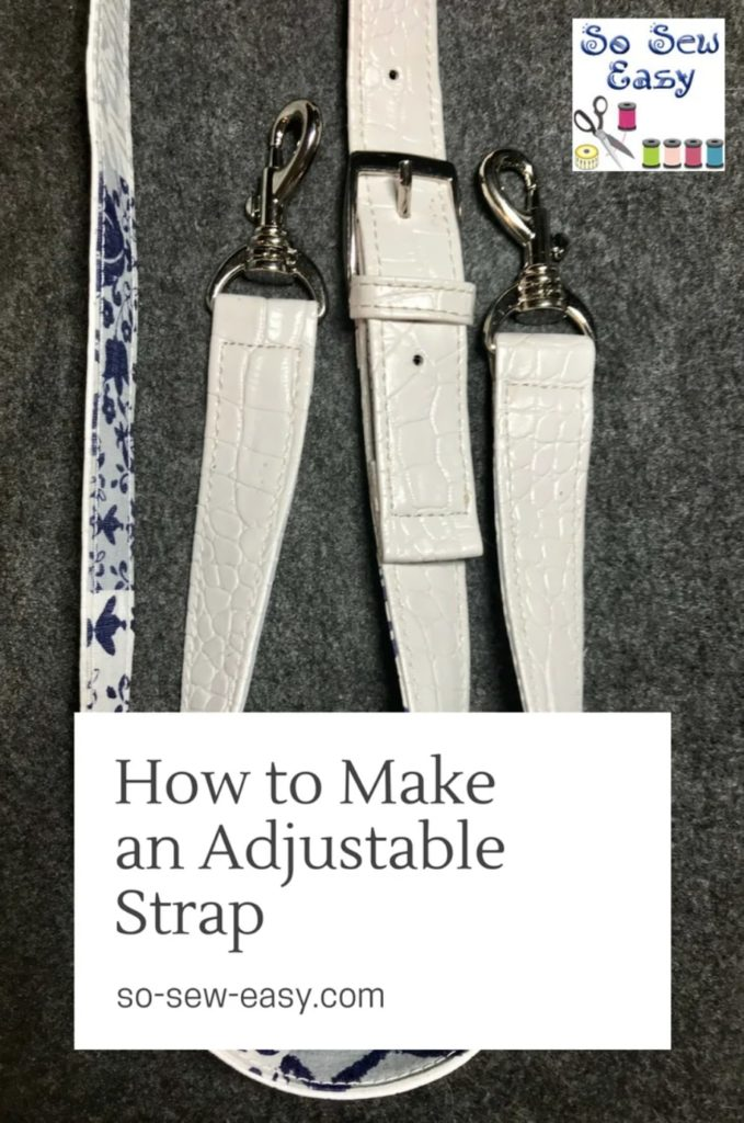 How To Make An Adjustable Strap For Any Bag
