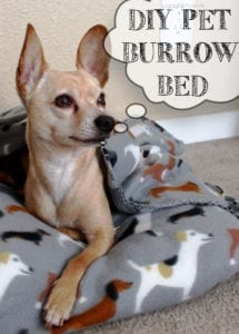 Pet Burrow Bed FREE Sewing Tutorial