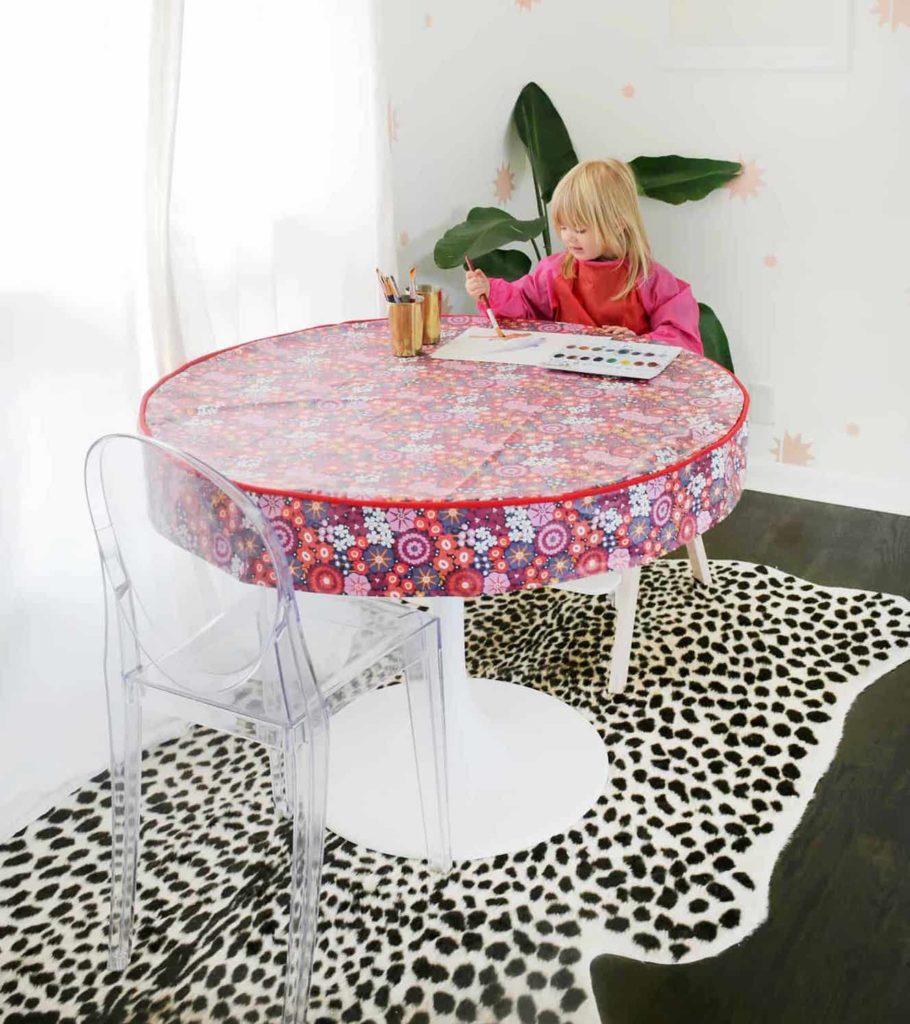 Waterproof Table Cover DIY FREE Tutorial