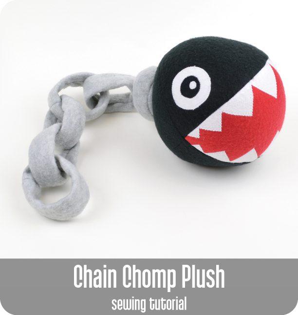 Chain Chomp Plush FREE Sewing Tutorial