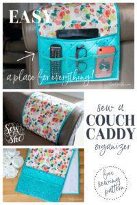 Couch Caddy Remote Control Organizer