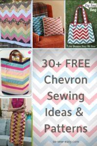 FREE Chevron Sewing Ideas