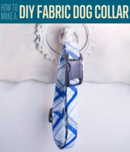 Fabric Dog Collar FREE Sewing Tutorial