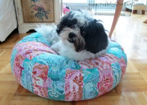 Doggie Bed FREE Sewing Tutorial