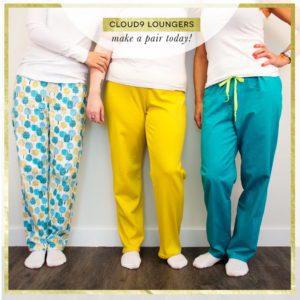 Cloud9 lounger free sewing pattern