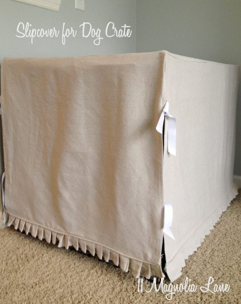 Slipcover for Dog Crate