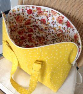 Small Weekender Bag FREE Sewing Pattern
