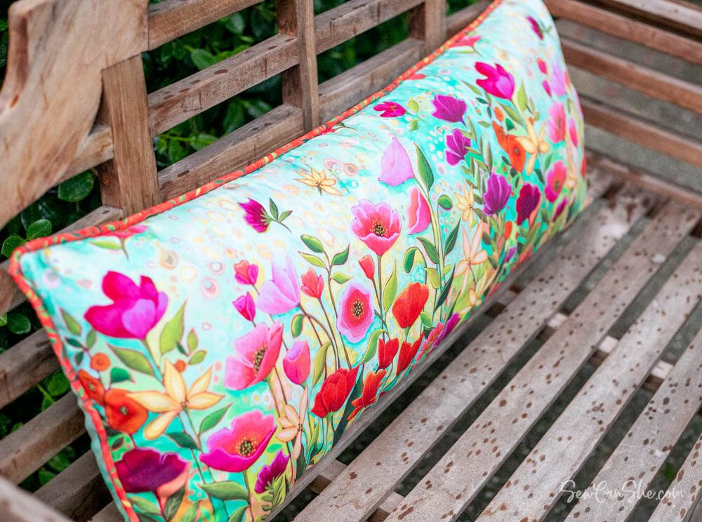 Bench Pillow Free Sewing Tutorial