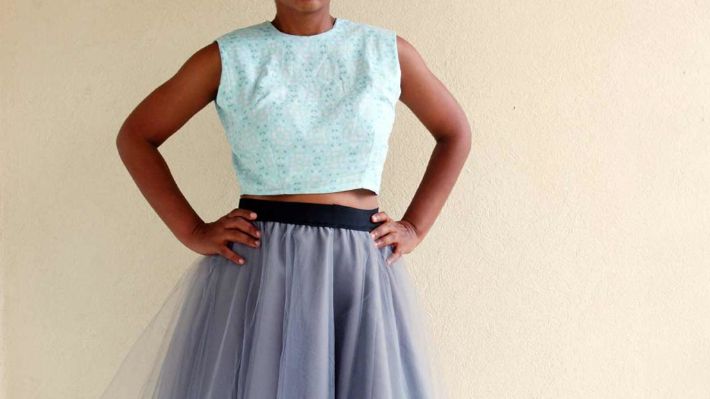 Crop Top FREE Sewing Pattern